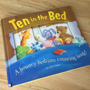 Ten in the Bed children's book by Gill Guile.