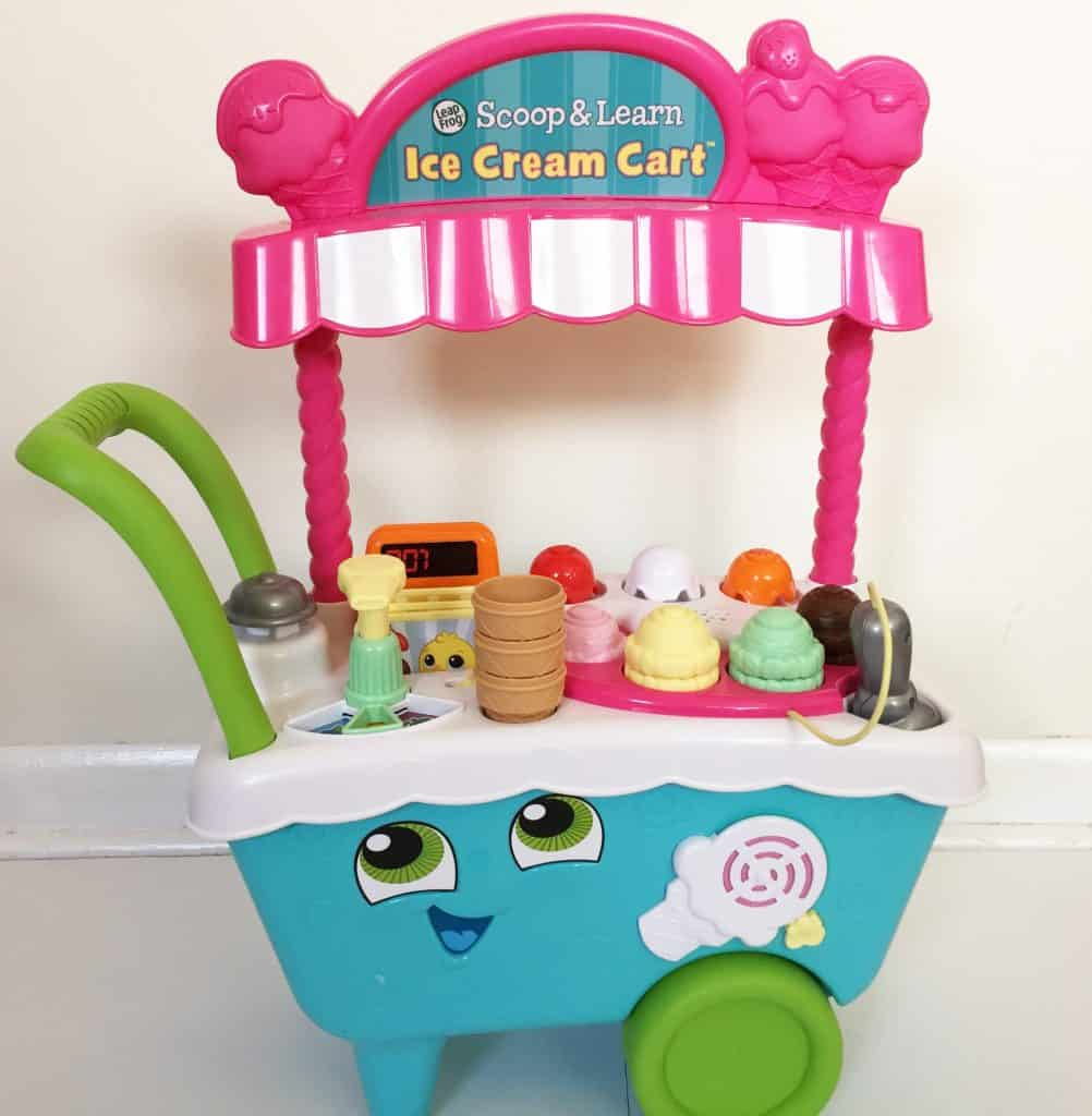 LeapFrog Scoop & Learn Ice Cream Cart toy