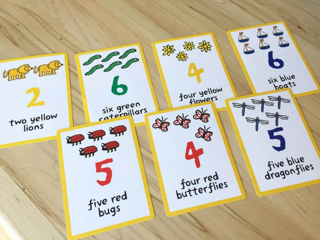 Maisy Mouse card game.