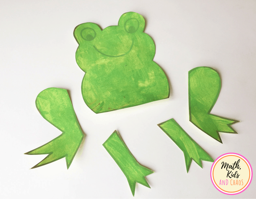 Fun Frog Craft For Kids With Free Template Math Kids And Chaos