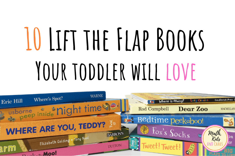 10 lift the flap books for toddlers