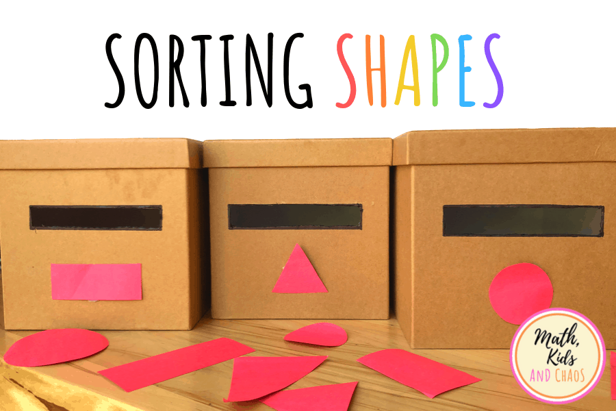 Sorting shapes featured image