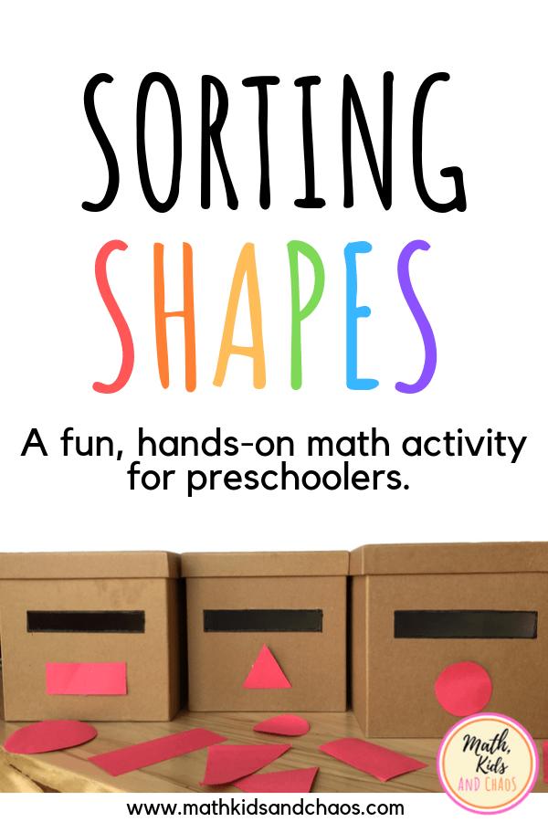 Sorting shapes pin