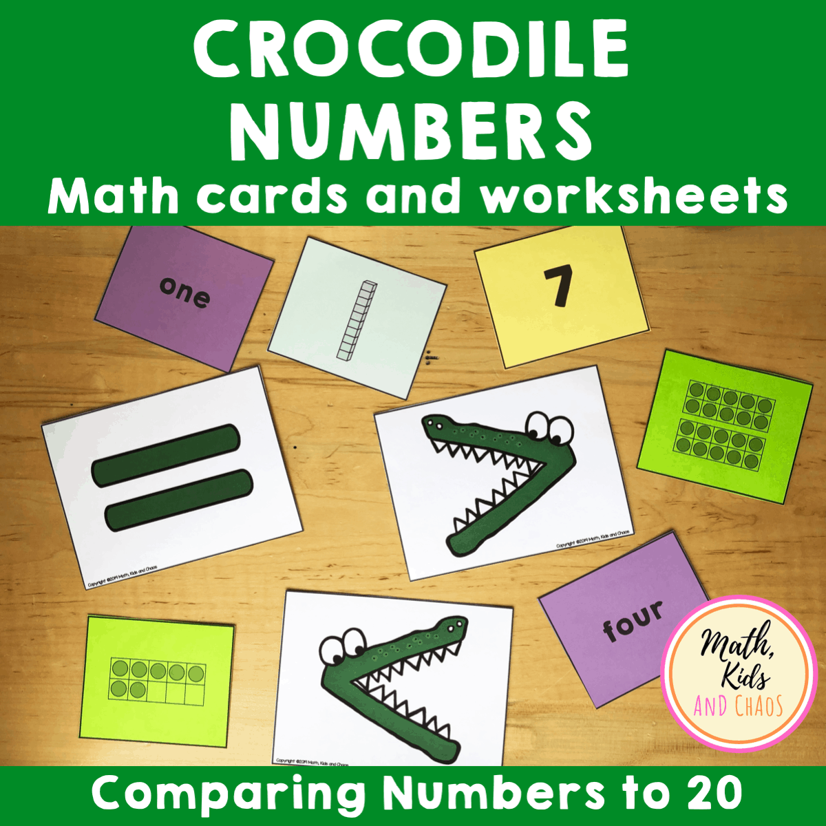 Crocodile Numbers product cover