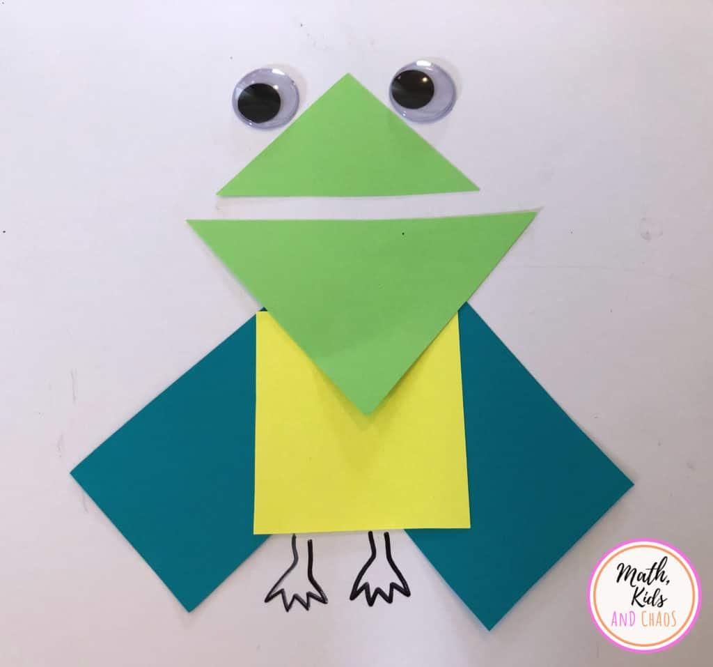 frog-like shape creature