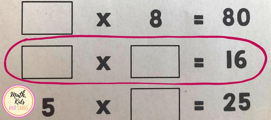 ? x ? = 16