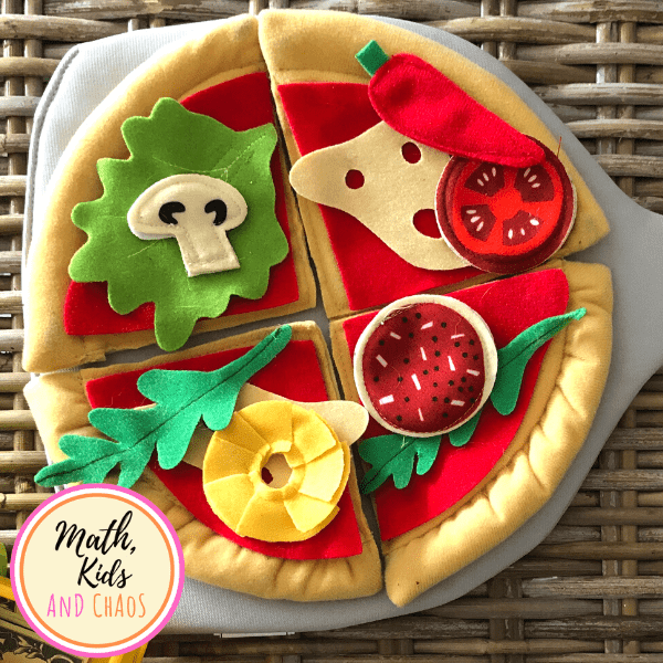 Play pizza for pretend play