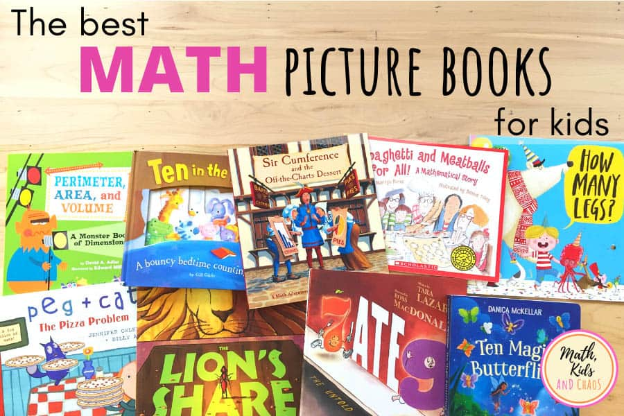 Math picture books for kids
