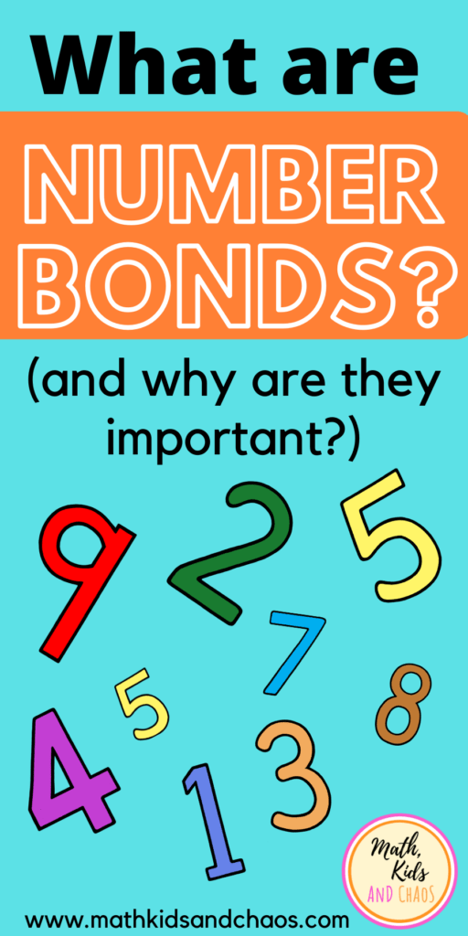 What are number bonds?