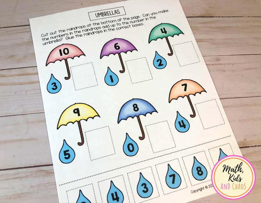 'Umbrellas' number bonds actvity